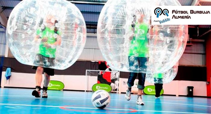 Descubre el deporte más divertido de Almería!! Footbubble!!!! Desde sólo 5.83€