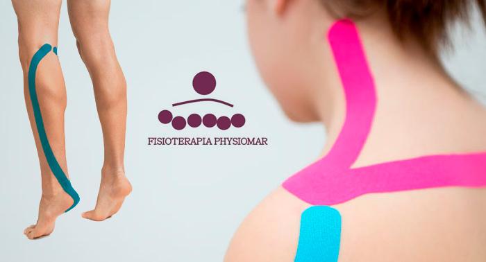 1 o 3 sesiones de Fisioterapia con Vendaje Neuromuscular en Centro Fisioterapia Physiomar