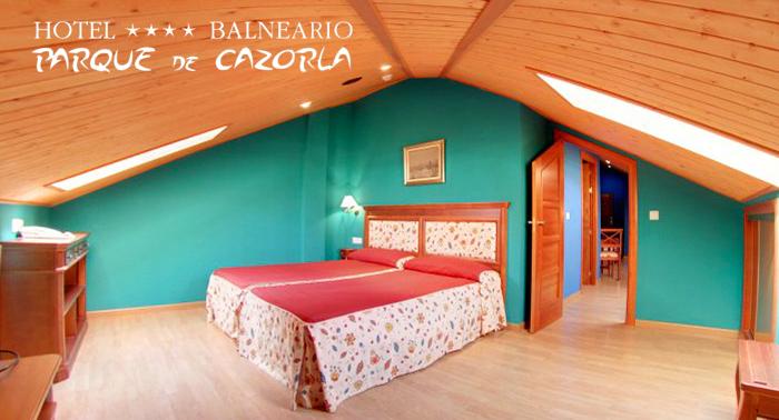 Disfruta de Cazorla para 2 personas: Alojamiento Superior con Vistas + Desayuno + Circuito Spa