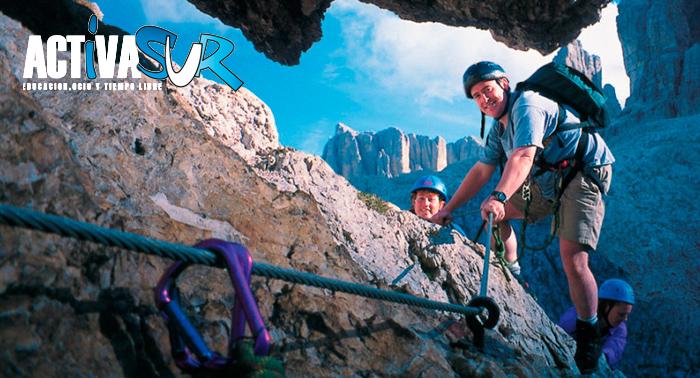 ¡Consigue llegar hasta la cima! Disfruta de una Vía Ferrata para 1 ó 2 personas en Archidona