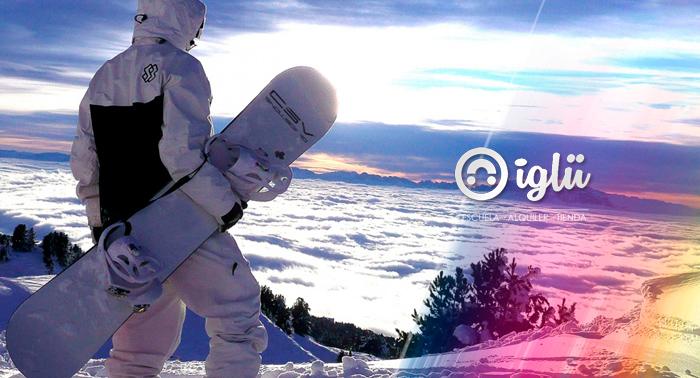 Alquiler de material de Esquí o Snow a pie de pista en Sierra Nevada. Tu gran oportunidad!!
