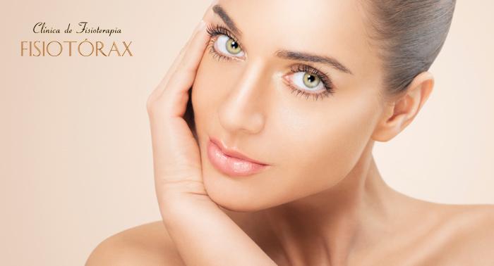 Trat. Deluxe: Peeling + reafirmante facial con activo DMAE + ácido hialuronico + Mascarilla