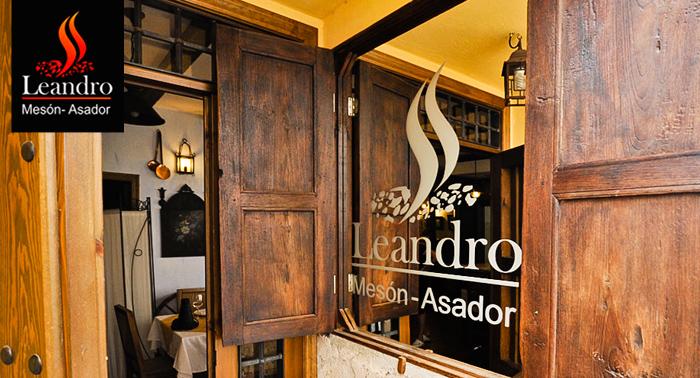 Pasa una noche inolvidable en Cazorla:Alojamiento y Almuerzo o Cena en Mesón Leandro para 2.
