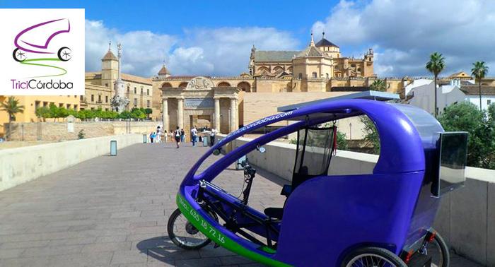 Ruta en Triciclo por Córdoba!! Enamorate de la ciudad con esta increible ruta!! por sólo 9,60€