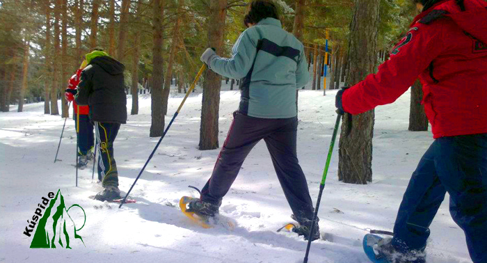 Ruta con Raquetas de Nieve en el Puerto de La Ragua. ¡Aprovecha ahora la temporada de nieve!