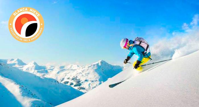 Alquiler de Equipo + Opción a Curso de Ski o Snow o Escuela Infantil. ¡Aprovecha la temporada!