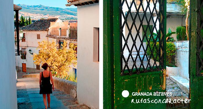 Ruta romántica guiada por el Albaicín y el Sacromonte de 3h con cava y bombones, para 2 pers.