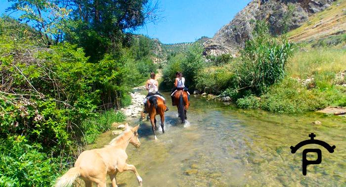 Una magnífica escapada para 2: Paseo a caballo con opción a 2 Noches en La Posada + Desayuno.