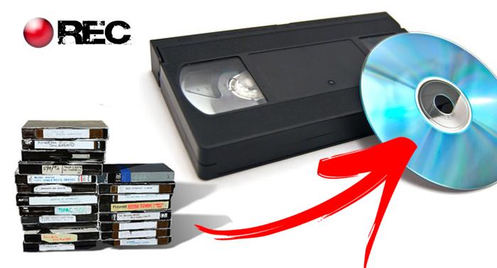 Recupera tus recuerdos: Convierte tus cintas de video (VHS, Beta…) a DVD