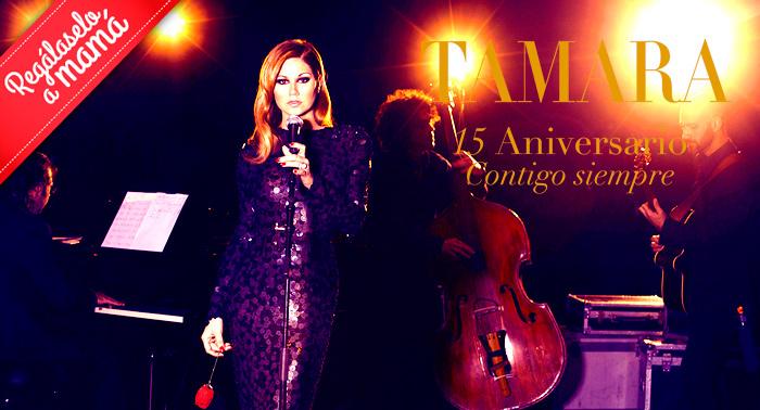 Entrada para el concierto de Tamara, celebra con ella su 15 aniversario por sólo 15€