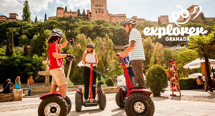 Descubre el Albayzín y Sacromonte de una forma diferente: ¡Tour en Segway + Vídeo GoPro!