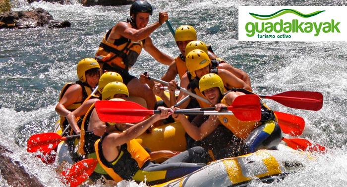 Rafting por el Guadalquivir. Escápate y diviértete en plena naturaleza!!!