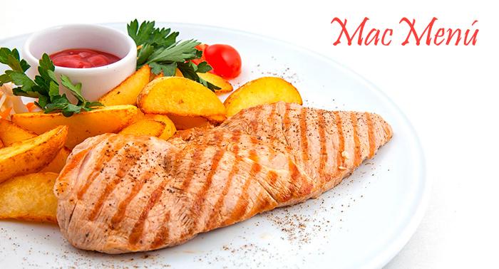 ¡¡¡Menú del día por 2,1€!!! 1er y 2º Plato + Postre, para recoger o a domicilio. ¡Y a comer!