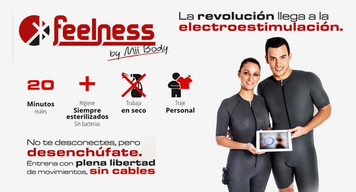 Ponte en forma con el método más revolucionario: Sesión de Electroestimulación, ¡sin cables!