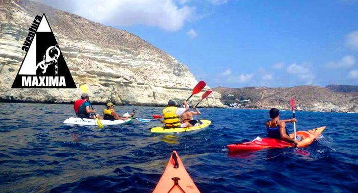Ruta en Kayak por el Parque Natural de Cabo de Gata-Nijar + Reportaje fotográfico sólo 16€