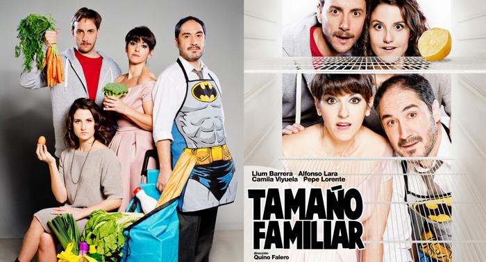 Teatro Tamaño Familiar con Llum Barrera, Alfonso Lara, Camila Viyuela y Pepe Lorente