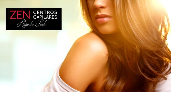 ¿Caída de pelo, caspa, grasa...? Diagnóstico + 1 ó 3 sesiones de Tratamiento Capilar Unisex