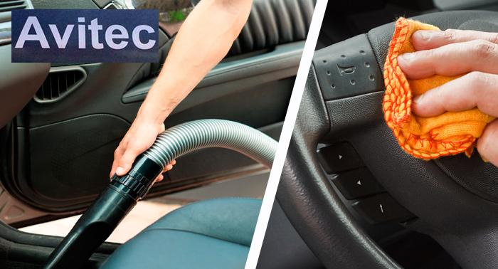 Lavado de coche: Interior y Exterior con opción de lavado de la tapicería.