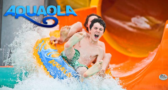 ¡Refréscate en el Parque Acuático Aquaola! Entradas 2X1, 5€ niño y 8€ adulto