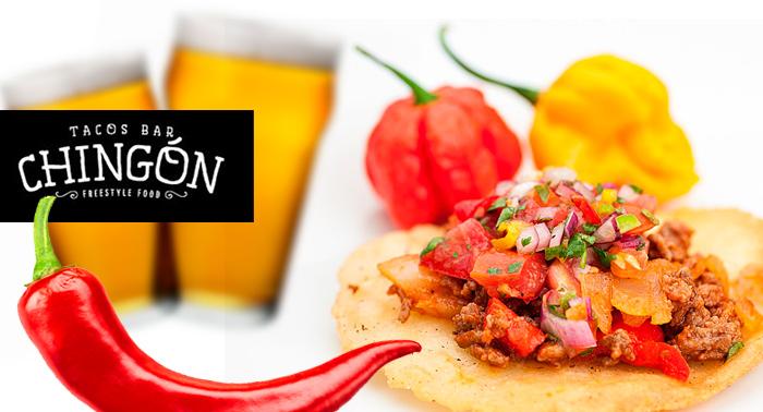 Menú Freestyle Food (Mexicano o USA) para 2: Ensalada o Entrantes + Principales + Bebidas.
