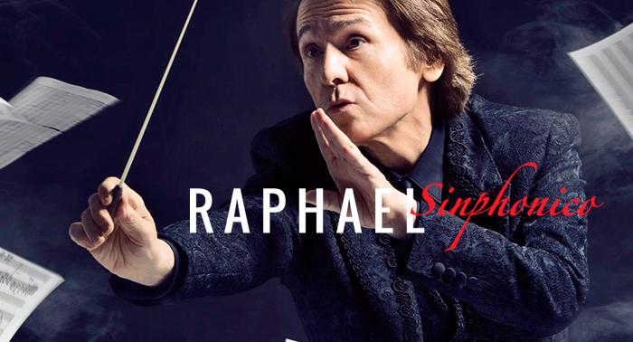 Entradas para el concierto de Raphael & OCAL Sinphónico el 28 de Agosto