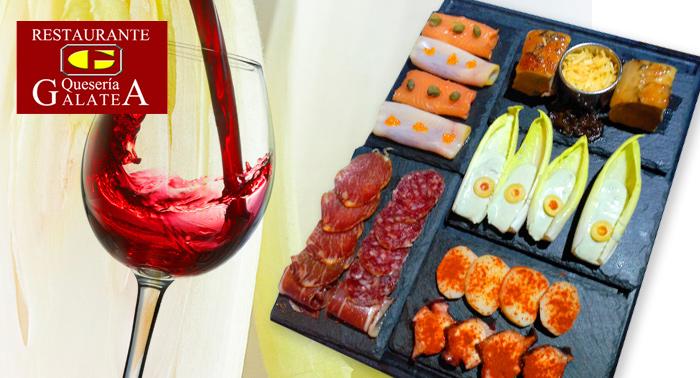 Pura Delicatessen: Menú gourmet para 2 personas con bebida en la Quesería Galatea