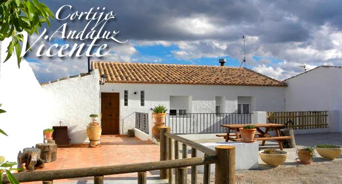 Un relajante fin de semana rural en Oria, Cortijo Vicente,hasta 4 personas sólo 12,50€ pers/día
