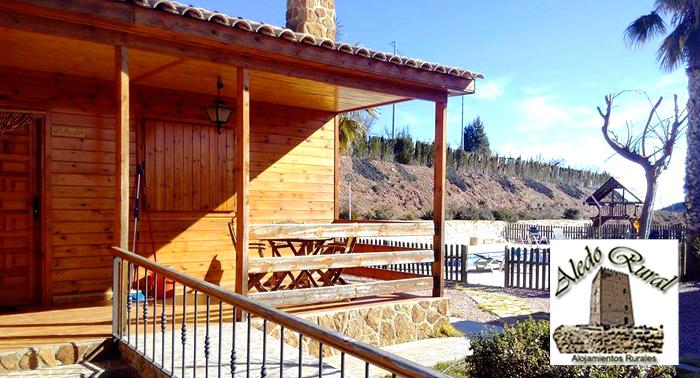 ¡Disfruta este verano de una casa rural y su bello paisaje! Para 2 y 4 personas, Murcia