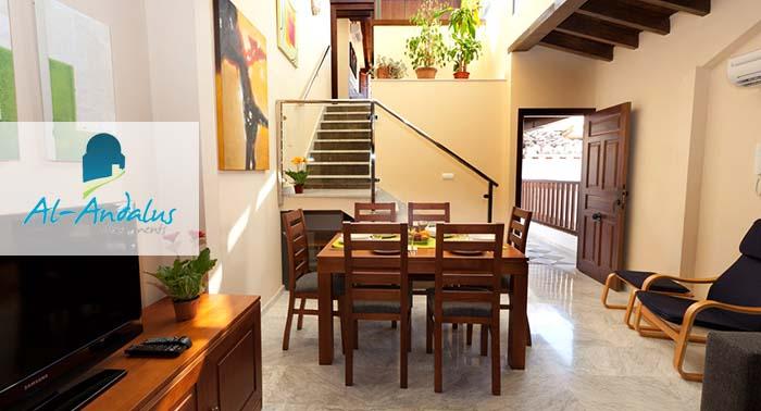 Alójate en este Apartamento en el centro de Granada, 1 o 2 noches y capacidad hasta 6 pax.