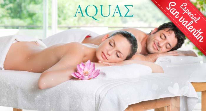 El regalo perfecto: Masaje relajante en pareja o individual con aceites aromáticos y Té