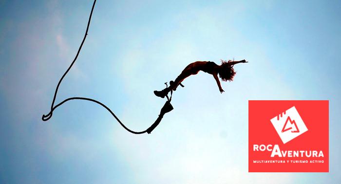 Da el salto de tu vida!!!! Puenting para 1 persona sólo 15€. Adrenalina pura!!!