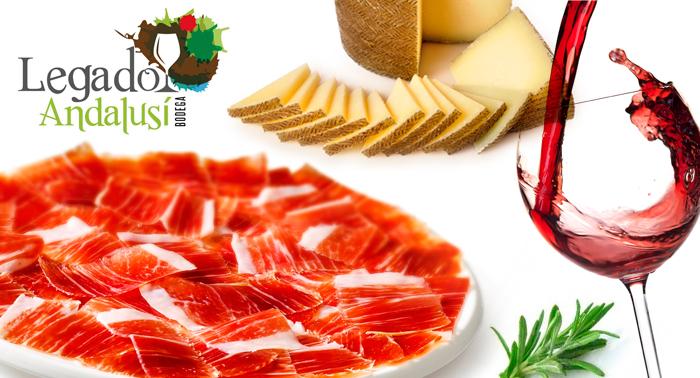 Tapeo Andalusí en Bib-Rambla: Jarra cerveza o Botella vino + 2 Tapas + Plato de jamón y queso.