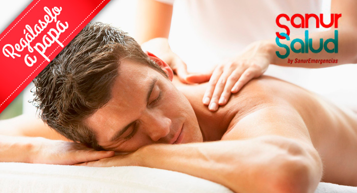 El regalo perfecto: Masaje relajante espalda y piernas sólo 8€!!