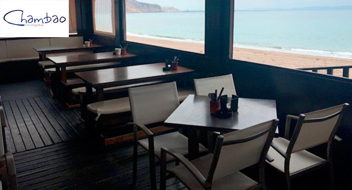 Para 2 personas: Bebidas + Paella o Parrillada, en el Paseo Marítimo de Aguadulce