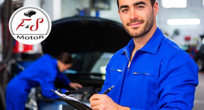Revisión coche + Cambio de aceite y filtro, opción correa distribución y pastillas de freno.