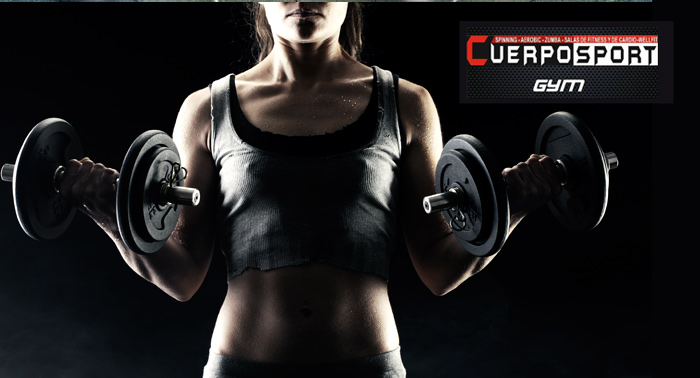A ponerse en forma: 1 ó 2 meses de gimnasio + Spinning  ¡Abierto los sábados por la mañana!
