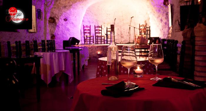 El Templo del Flamenco: Espectáculo Flamenco en Cueva de Albaycin + Bebida ó Menú