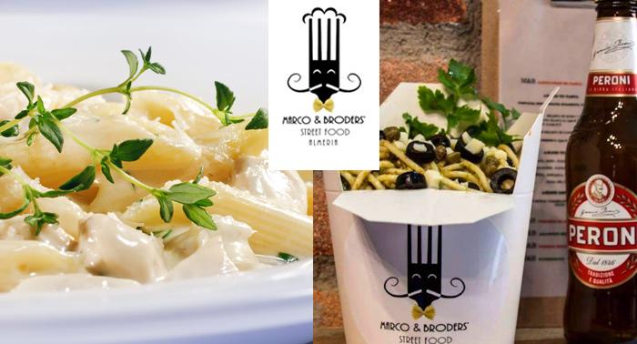¡Lo mejor de Italia! 3 Cartuchos de Pasta + Cerveza Italiana en Marco & Broders'