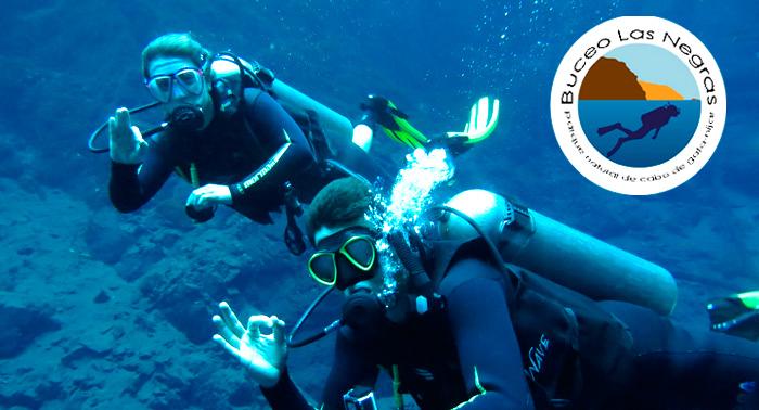 Bautismo de buceo con Salida en barco en Las Negras. ¡Descubre el Fondo Marino!