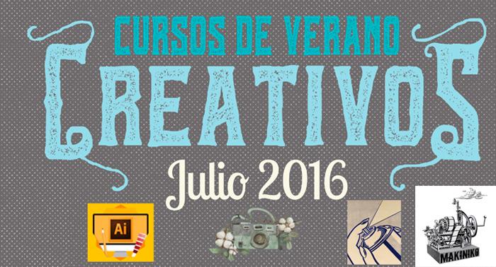 ¡Desata tu Creatividad con los cursos de Verano de Makiniko!