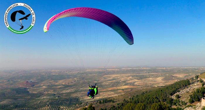 Increíble viaje aéreo: Vuelo en Parapente para una persona con reportaje fotográfico