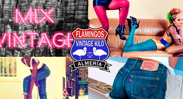 ¡Tu Auténtica Thrift Shop 100% USA en Almería! Llévate tu ropa en Flamingos Vintage Kilo