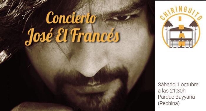 ¡Hazte con tu entrada para el Concierto de José el Francés en el Chiringuito Iban!