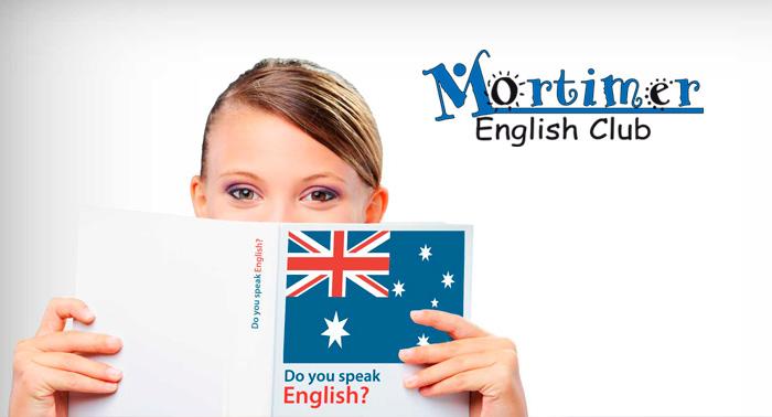 ¡Aprende Inglés con Mortimer English Club! Matrícula + 2 Meses de B1 o Sistema Mortimer