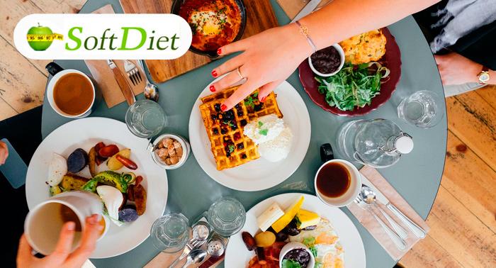 ¡¡Adelgaza a la Carta!! 2 o 4 Semanas de Dieta Personalizada con Softdiet