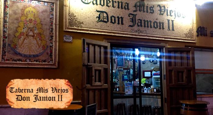 ¡El tapeo más tradicional y auténtico en Taberna Mis Viejos Don Jamón II!