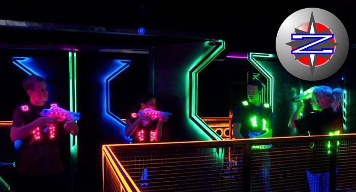 ¡¡Batalla de Ciencia-Ficción!! 3 Partidas de Láser Tag en Megazone por sólo 8.40€ por persona
