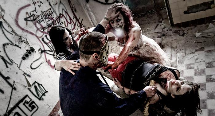 Walking Dead Cantoria  ¡¡Conviértete en zombie, atemoriza a la ciudad y reclama tu recompensa!!