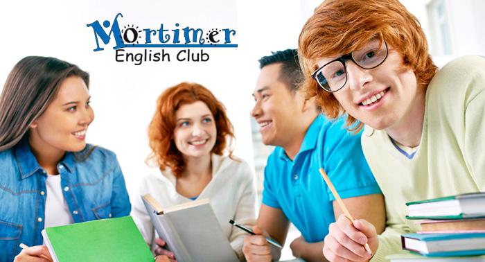 ¡Aprende Inglés con Mortimer English Club! Matrícula + Material + 2 Meses de curso de B1 o B2