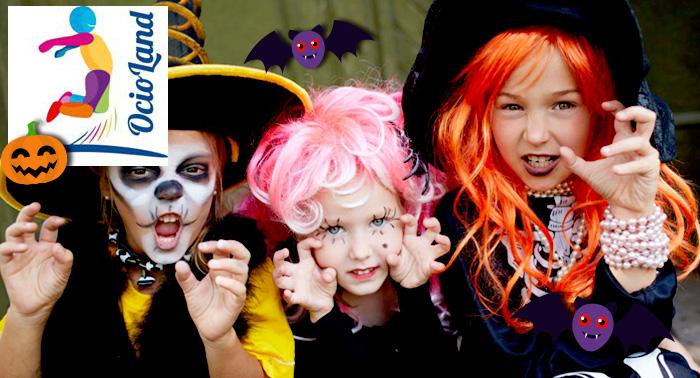 Para los Peques: ¡Pásatelo de Miedo en la Fiesta de Halloween con Merienda de Ocioland!